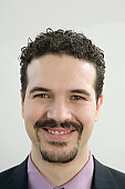 Portrait of a Hispanic businessman smiling