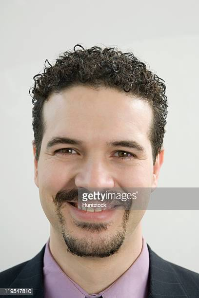 Portrait of a Hispanic businessman smiling
