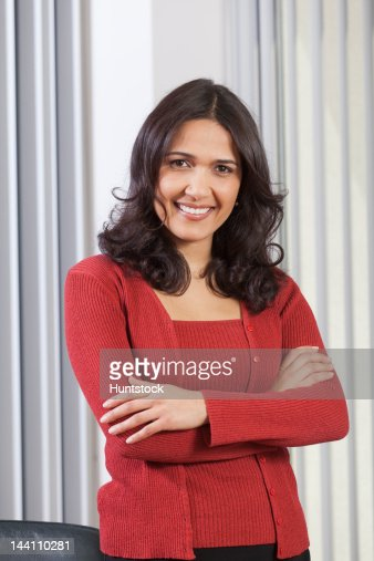 Portrait of a Hispanic businesswoman : Foto de stock
