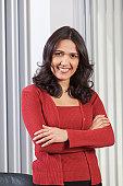 Portrait of a Hispanic businesswoman