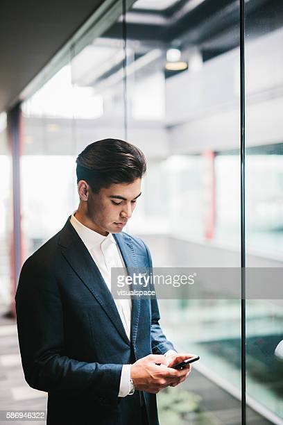 Portrait of a Japanese Businessman