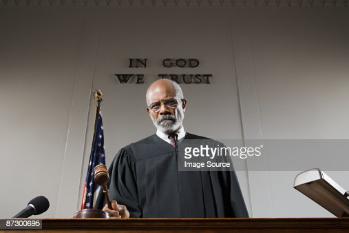 Portrait of a judge