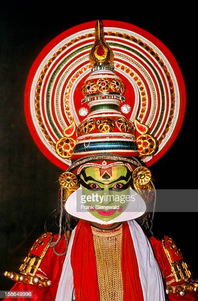 Portrait of a Kathakali dancer Kathakali is one of the oldest dance styles of India Performances sometimes take days