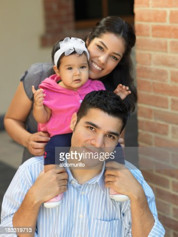Ritratto di una famiglia Latina