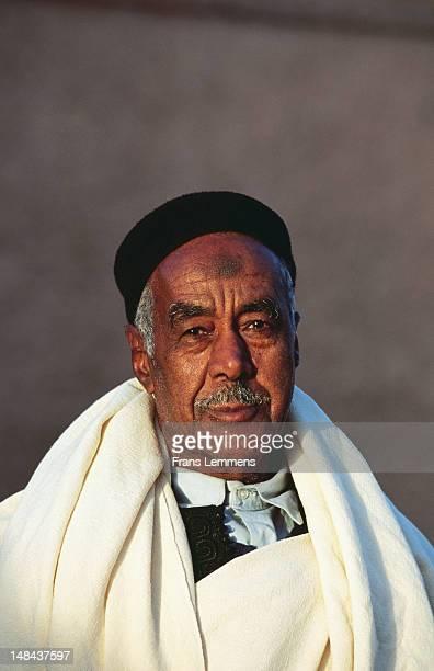 Portrait of a local Berber man.