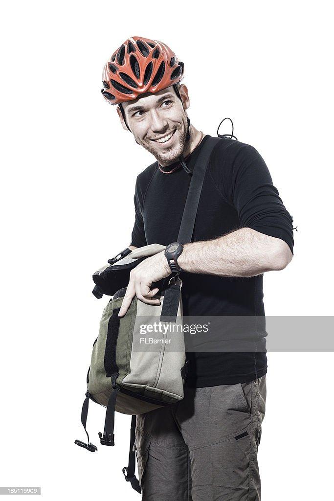 Portrait d'un homme de banlieue : Photo