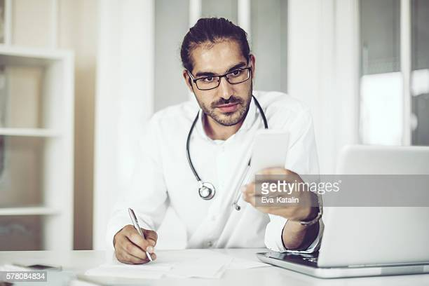 Portrait of a male doctor
