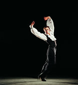 Portrait of a Male Flamenco Dancer