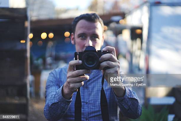 Portrait Of A Male Photographer
