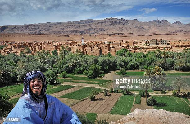 Portrait of a man in the Atlas mountains