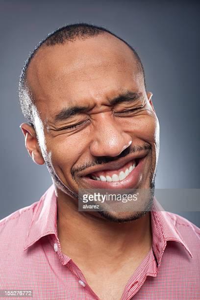 Retrato de un hombre dolor