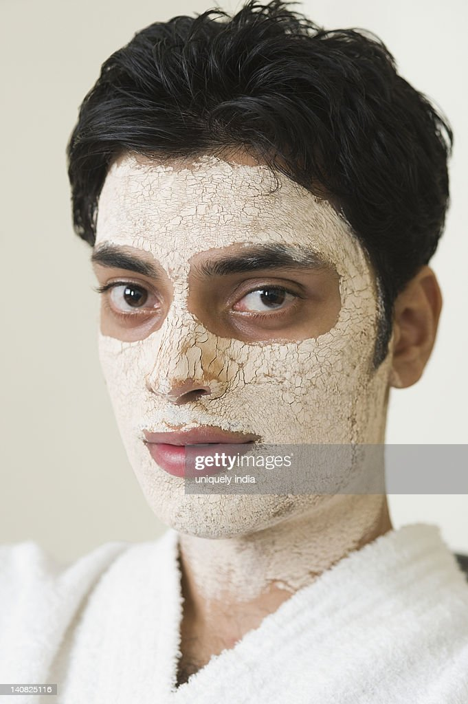 Man facial mask