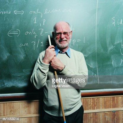 Portrait of a Maths Lecturer