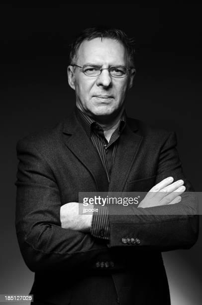 Porträt von Reifer Geschäftsmann