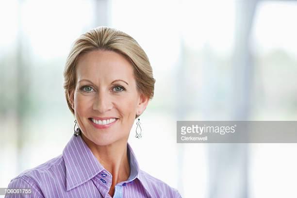 Porträt von Reife Geschäftsfrau Lächeln