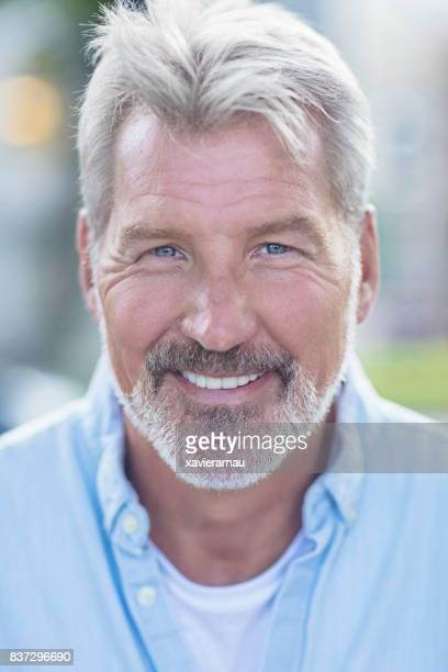 Portrait Of A Mature Man