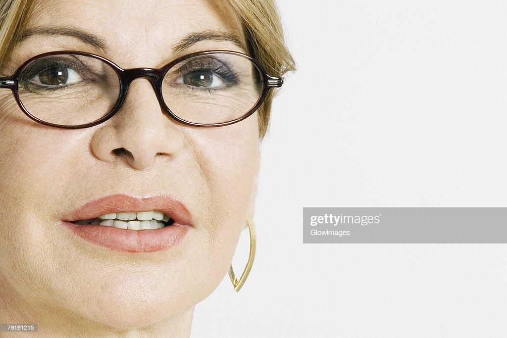 Portrait of a mature woman : Foto de stock