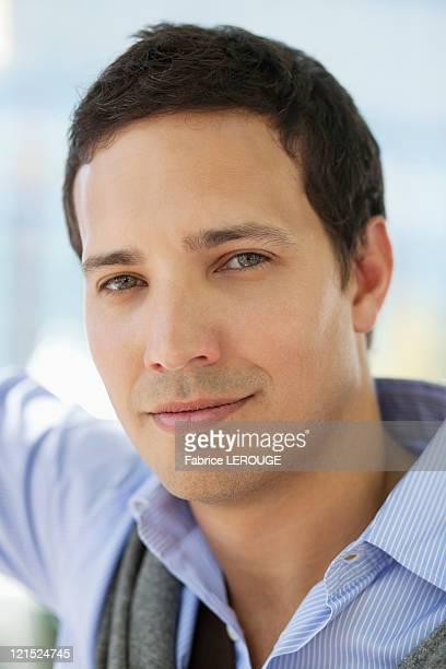 Portrait of a mid adult man
