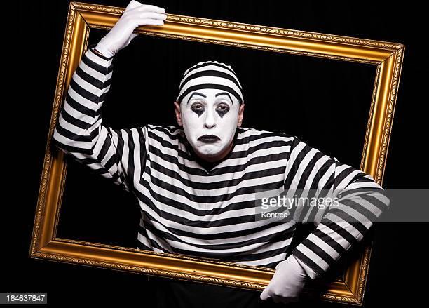 Portrait de mime