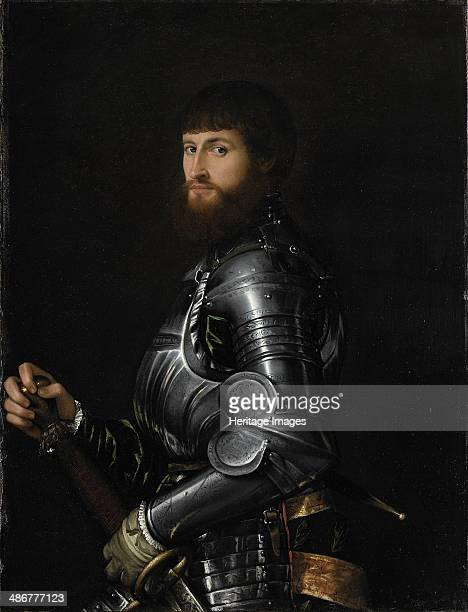 Portrait of a Nobleman in Armour Between 1540 and 1560 Artist Moroni Giovan Battista