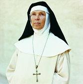 Portrait of a Nun Wearing a Crucifix