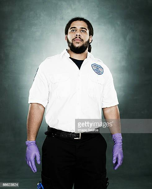 Portrait of a paramedic