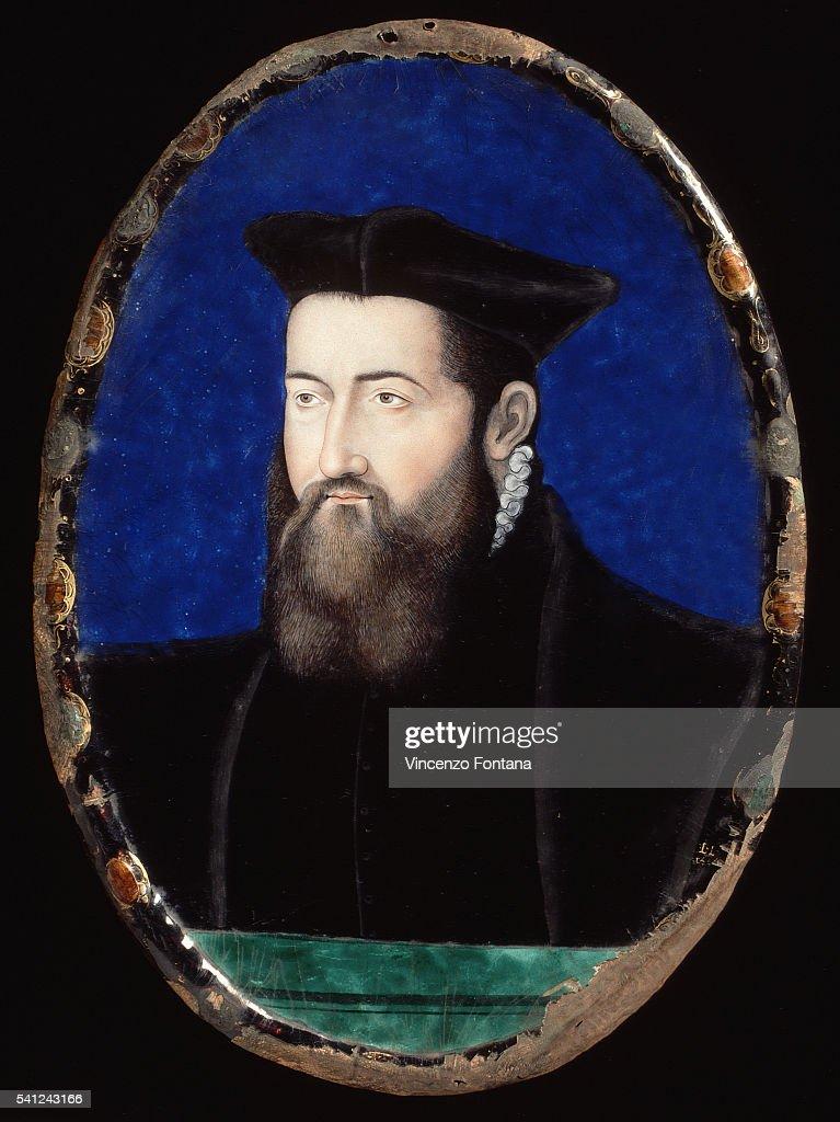Portrait of a Prelate by Leonard Limosin