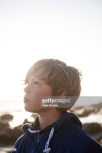 Portrait of a Pre-Teen Boy