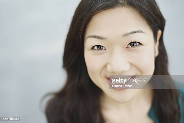 Portrait of a pretty Chinese woman