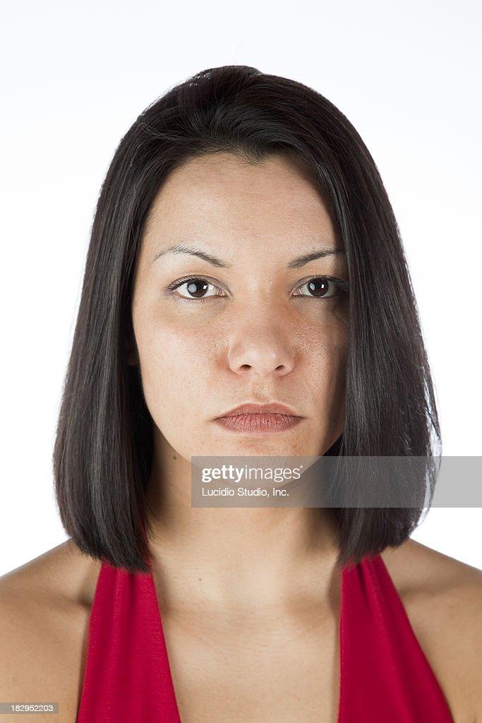 Portrait of a pretty woman : Stock Photo
