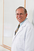 Portrait of a professor smiling