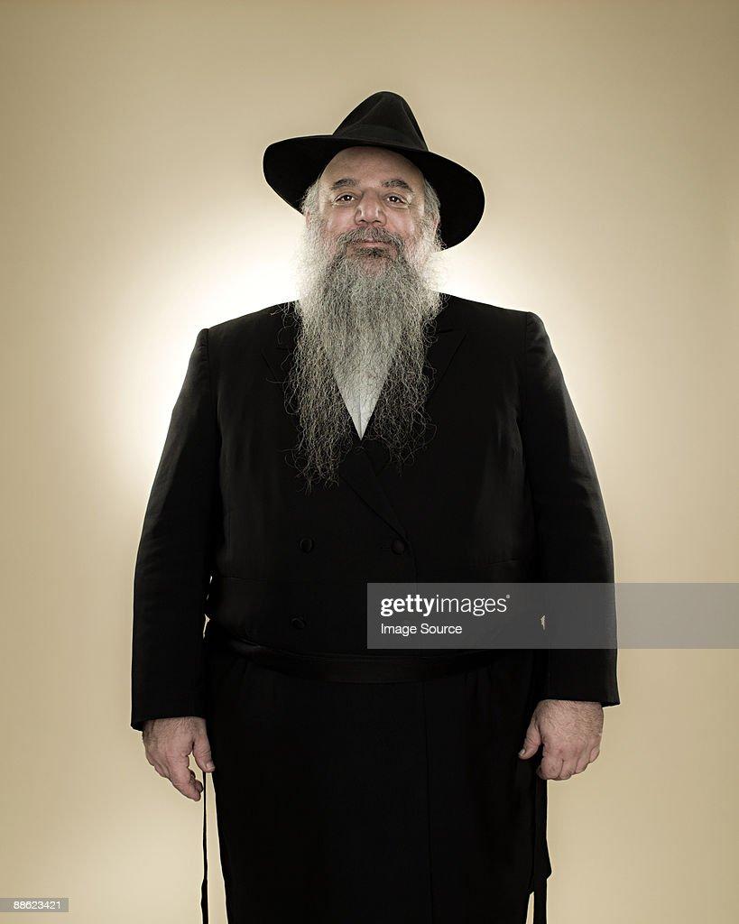 Portrait of a rabbi