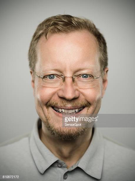 Retrato de un auténtico hombre sueca.