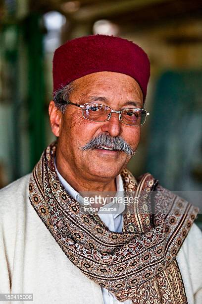 Portrait of a restaurant owner in Djerba, Tunisia
