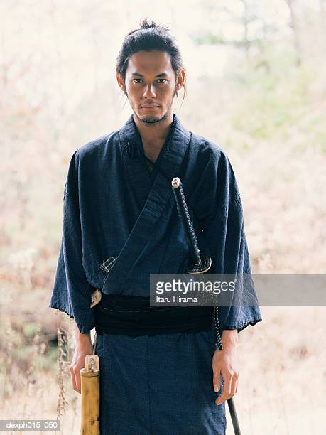 Portrait of a Samurai warrior