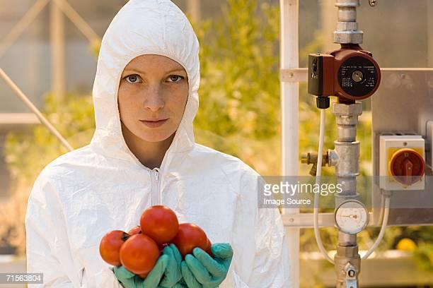 Portrait d'un scientifique