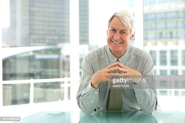 Portrait of a senior CEO