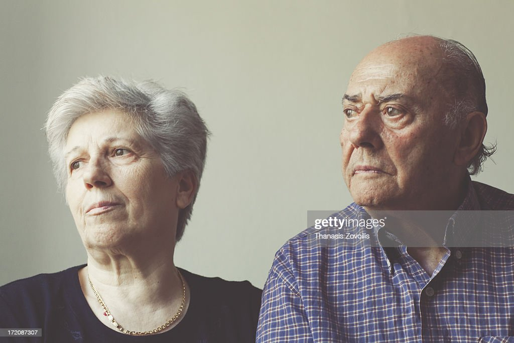 Portrait of a senior couple : Stock Photo