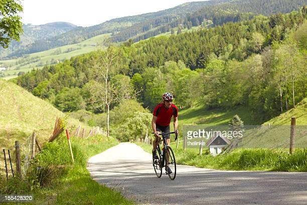 Portrait of a senior cyclist