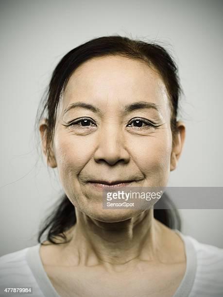 Portrait of a senior japanese woman