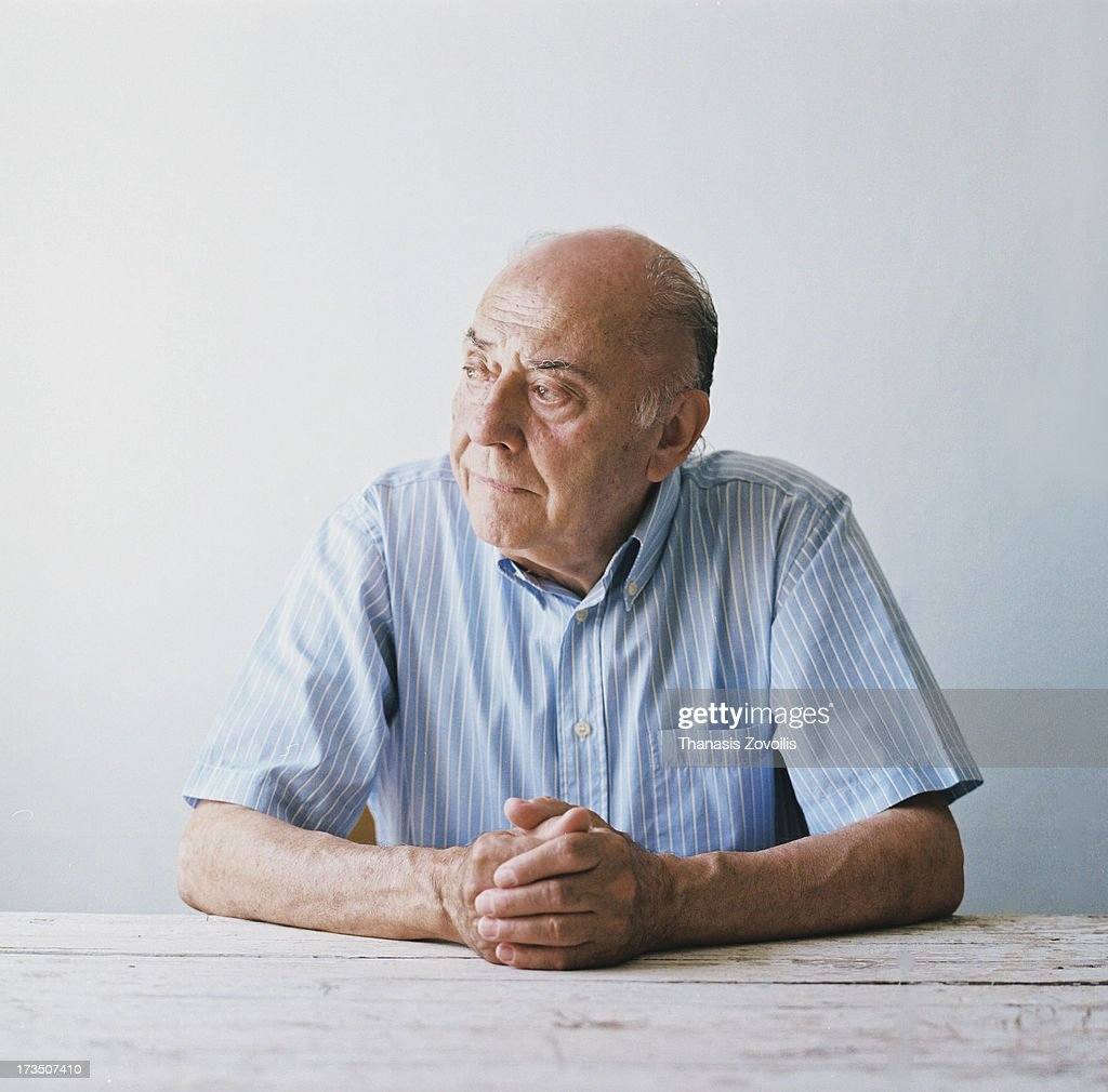 Portrait of a senior man : Stock Photo