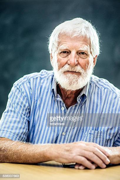 Portrait of a Senior man with white beard