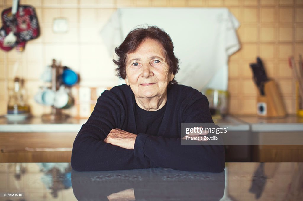 Portrait of a senior woman : Stock-Foto