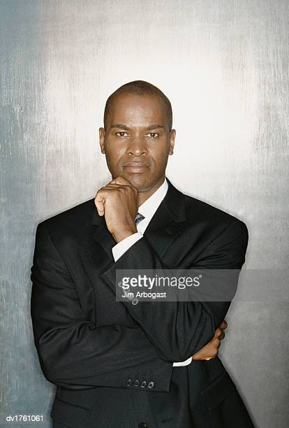 Portrait of a Serious Looking Businessman