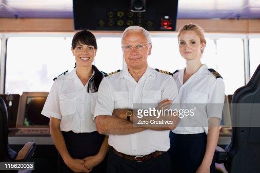 Portrait of a ship crew