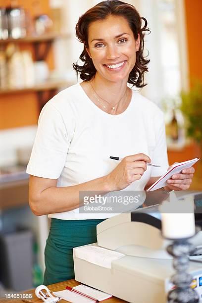 Retrato de Ayudante de tienda