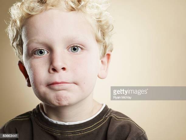 Ritratto di un ragazzo di sei anni.
