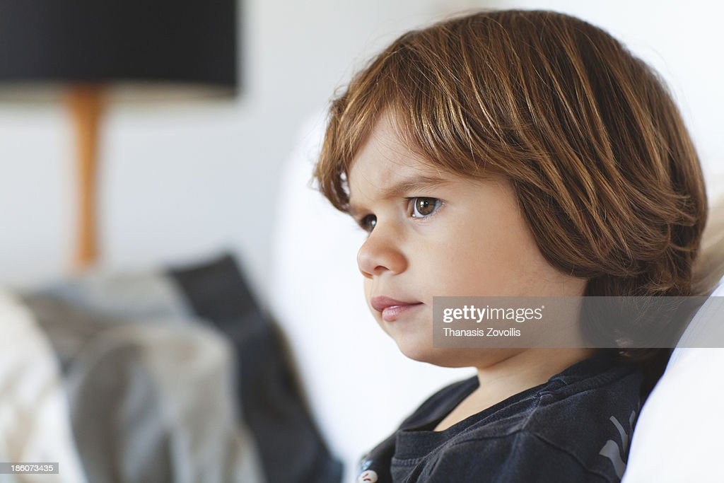 Portrait of a small boy : Stock Photo