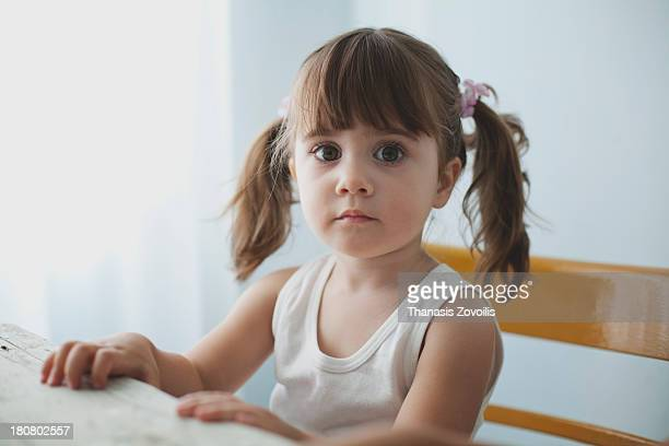 Portrait of a small girl