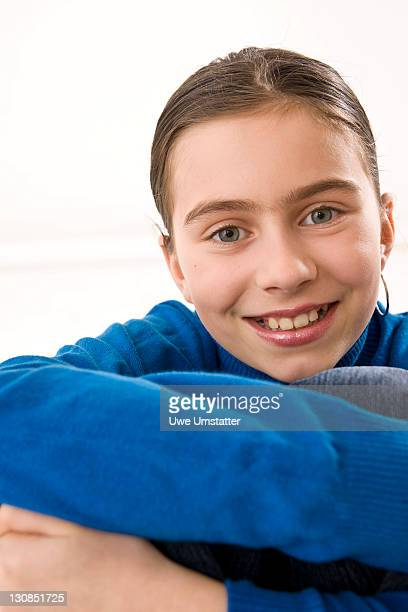 Portrait of a smiling girl